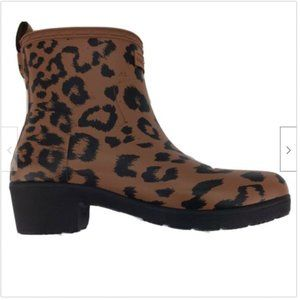 Hunter Refined Hybrid Print Thicket Leopard Bootie